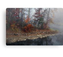 Foggy Weather Canvas Print