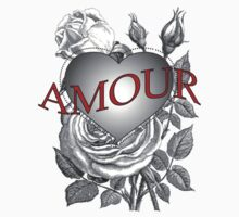 Amour Heart Rose by Zehda