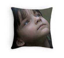 Child Star Throw Pillow