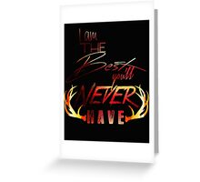 Never Have - Color Greeting Card