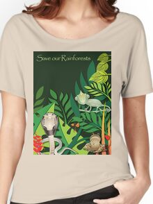 Save our Rainforests II T-Shirt Women's Relaxed Fit T-Shirt