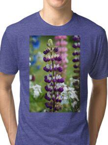 Lupin Flower Tri-blend T-Shirt