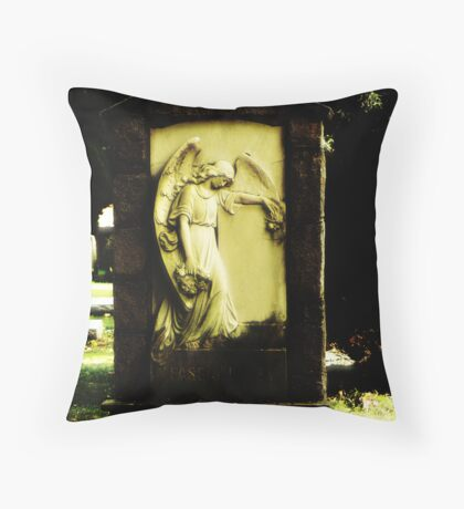 And the angels wept Throw Pillow