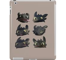 Toothless Faces iPad Case/Skin