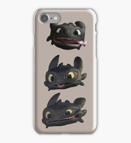 Toothless Faces iPhone Case/Skin