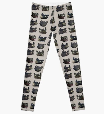 Toothless Faces Leggings