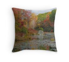 Tranquil Autumn Afternoon Throw Pillow
