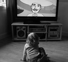 'Little Lady and a Big TV' by Mike O'Brien
