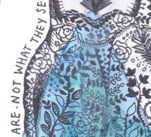 The Owls  Sticker