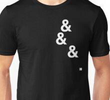 &&&. (white) Unisex T-Shirt