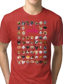 pooch tee Tri-blend T-Shirt