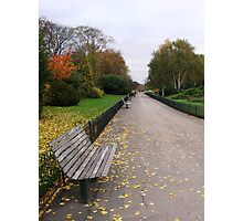 Regents Park - England Photographic Print