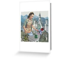 Crystal Castle Greeting Card