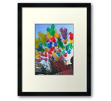 Disneyland Balloons Framed Print