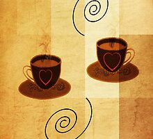 Cafe mocha for two by ©Maria Medeiros