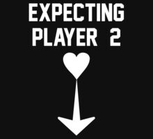 Expecting Player 2 Maternity T Shirts by designbymike