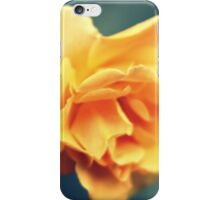 Vintage Peach Rose iPhone Case/Skin