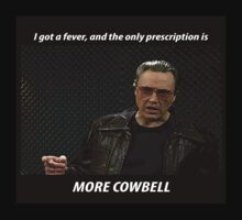 More Cowbell SNL Christopher Walken Shirt T-Shirt