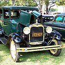 1929 Ford Model A by Glenna Walker