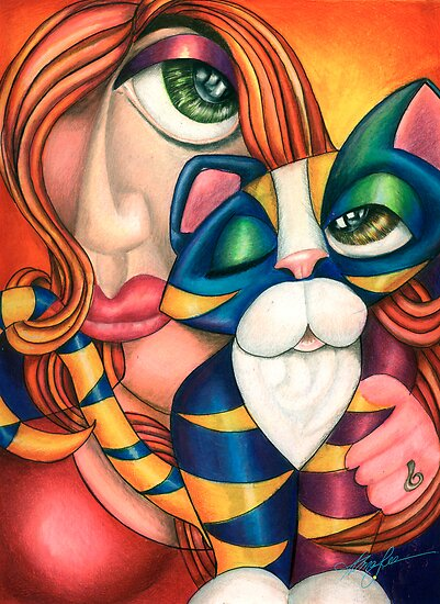 Love Me Love My Cat by Alma Lee