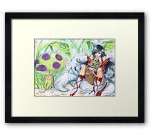 ahri hugging teemo~ Framed Print