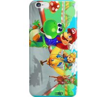 mario racing iPhone Case/Skin