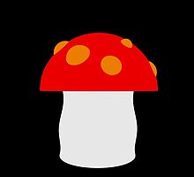 Mushroom - 3d model by dlmcrae