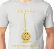 Looper Minimalist Movie Design Unisex T-Shirt