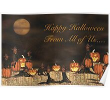 Happy Halloween From All of Us   Poster