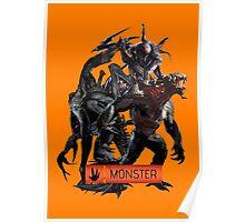 Evolve Monster Poster