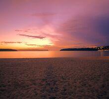 Red Dawn at Balmoral by Chris Hood