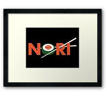 NORI Framed Print