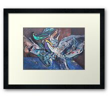 """Act"" Framed Print"