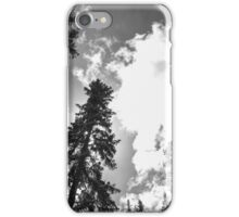 The Black and White Sandias iPhone Case/Skin