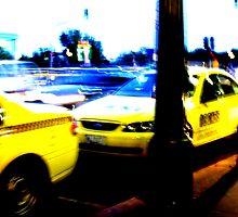 big yellow taxi by emma-jane day