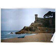 Tosa de mar in costa brava- spain Poster