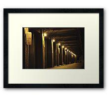 Strip District Framed Print
