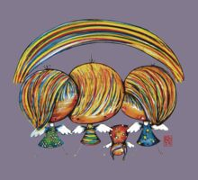 A Rainbow of Angels TShirt Kids Tee