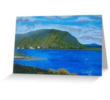 Killary Harbour near Leenane Greeting Card