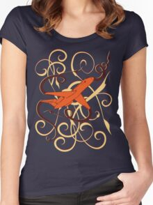 Fly away... Women's Fitted Scoop T-Shirt