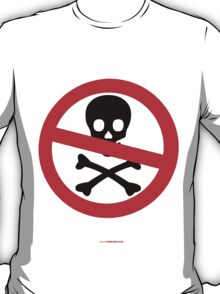 No Pirates T-shirt Design T-Shirt