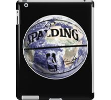The World Of BasketBall, NBA Inspired Earth Baller,  iPad Case/Skin