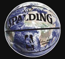 The World Of BasketBall, NBA Inspired Earth Baller,  T-Shirt