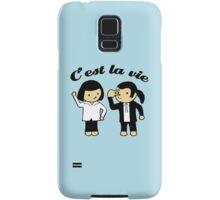 C'est la vie Samsung Galaxy Case/Skin