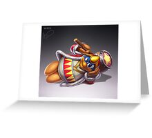 King Dedede Greeting Card