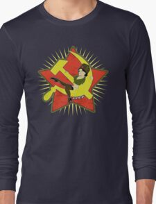 CCCP Pinup Long Sleeve T-Shirt