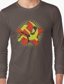 CCCP Pinup Long Sleeve T-Shirt