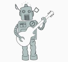 Guitar Robot Kids Clothes