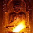 Hand warming buddha by UniSoul