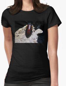 Flat Horn Hisser Roach  Womens Fitted T-Shirt
